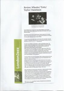 Georgia Mancio ReVoice live review London Jazz News 2011