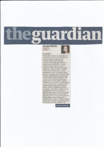 SIlhouette album review Guardian 2010