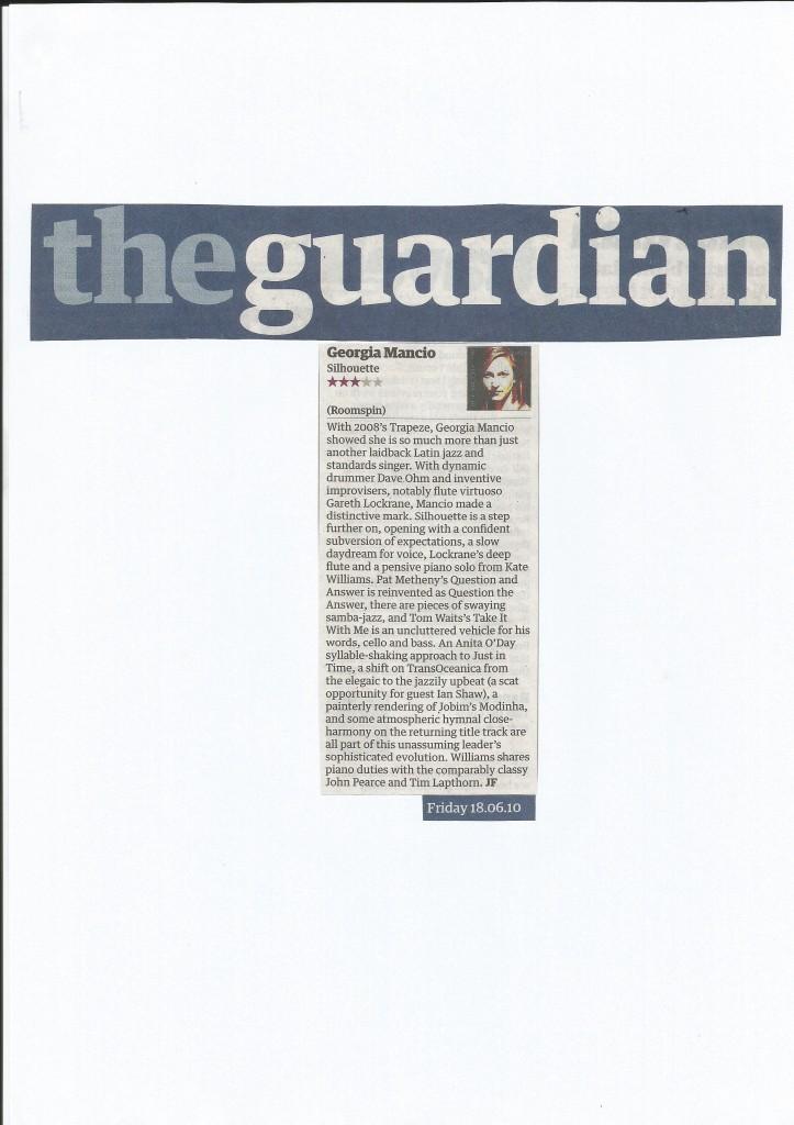 SIlhouette album review Guardian 2010