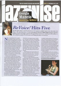 Jazzwise 2014, feature