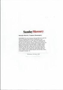 Sunday Mercury 2008