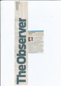 SIlhouette album review The Observer 2010