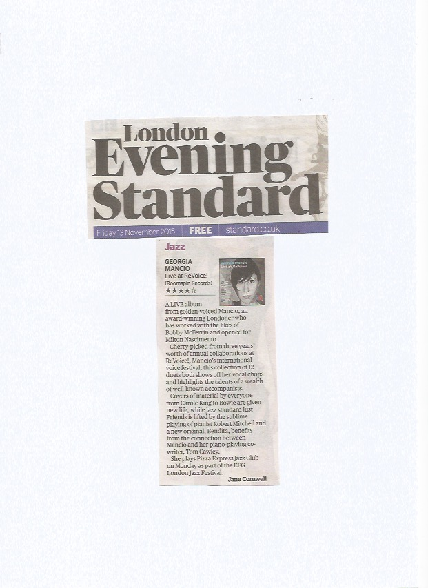 Evening Standard 2015, Live at ReVoice! review