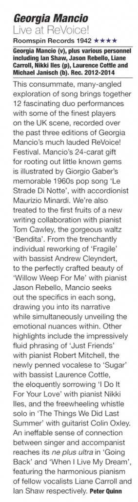 Jazzwise CD review