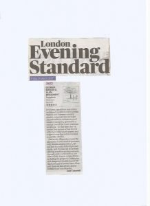 Evening Standard 2017, Songbook review