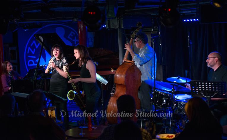Georgia Mancio Quartet with Special Guest Trish Clowes by Robin Francis, Hang 2018
