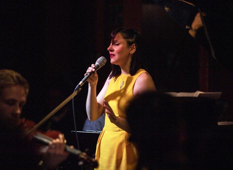 Georgia Mancio at the 606 Club by Tatiana Gorilovsky