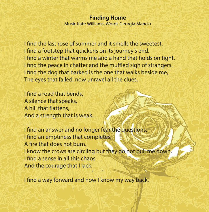 Finding Home: words