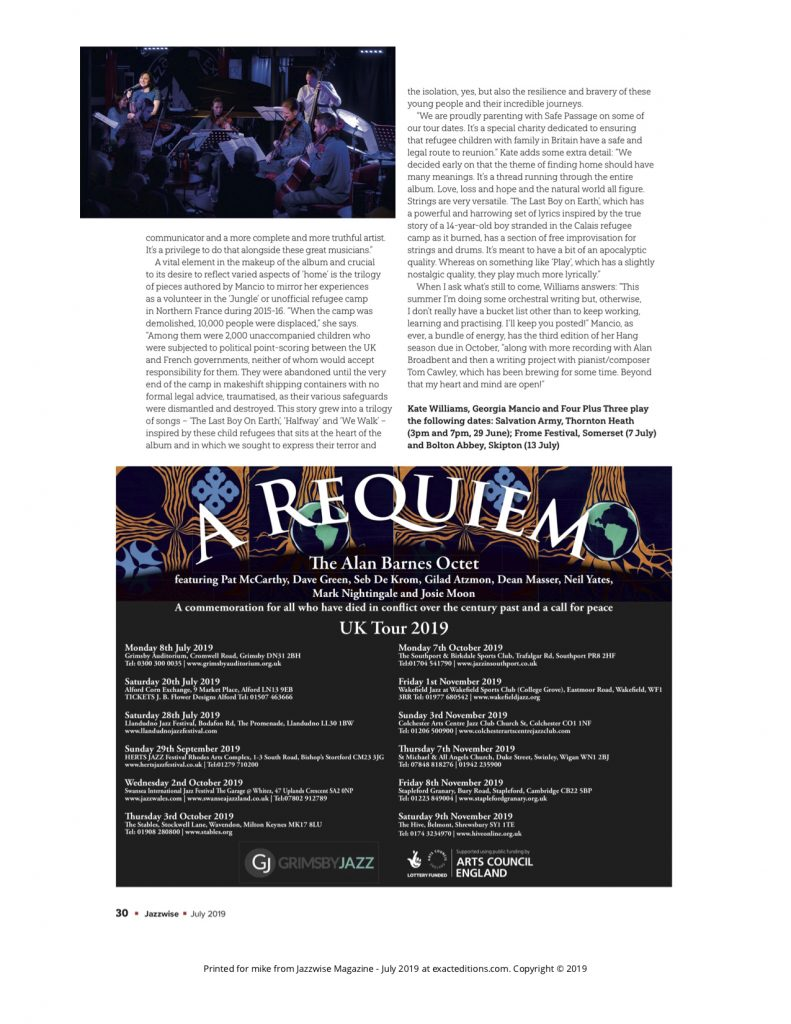 Jazzwise 2019, feature (3)
