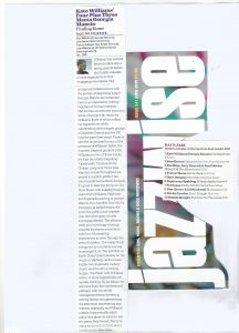 Jazzwise 2019, Finding Home review