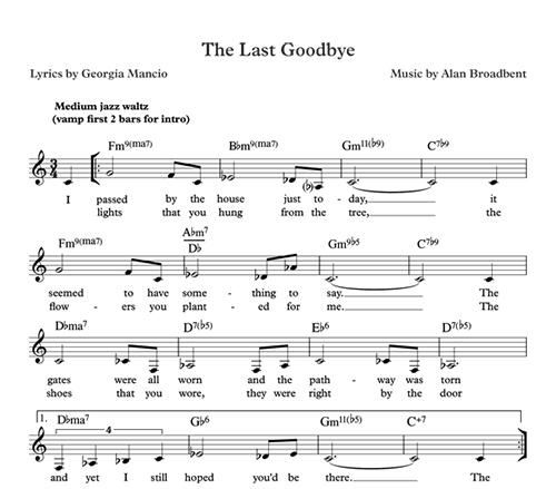 Sample Sheet Music (female)