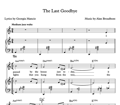 Sample Sheet Music (male)